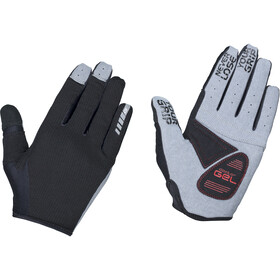 GripGrab Shark Gepolsterte Vollfinger-Handschuhe schwarz